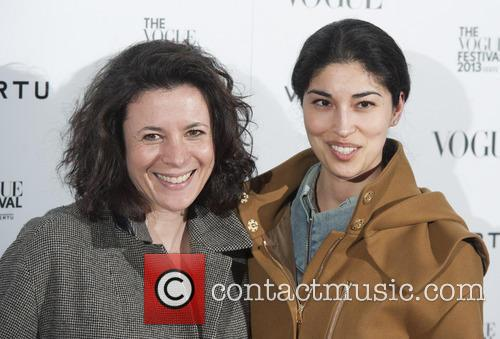 Caroline Issa (r) and Guest 3