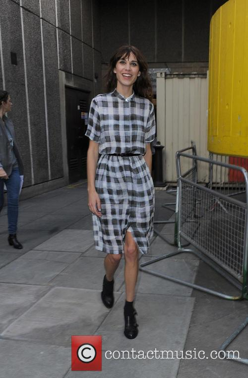 Alexa Chung leaving the Vogue Festival party 2013