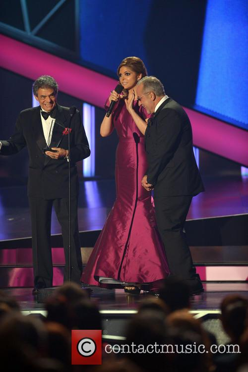 Jose Jose, Ana Barbara and Emilio Estefan 1