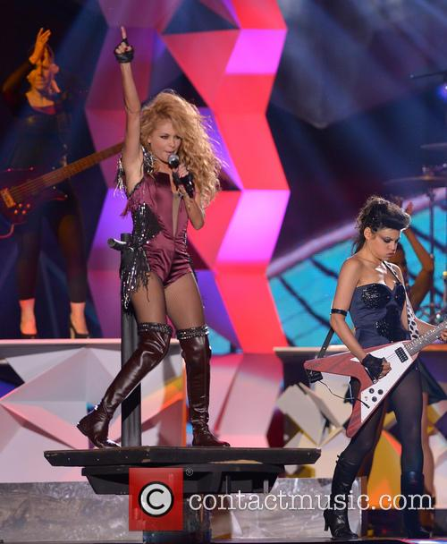 paulina rubio billboard latin music awards show 3631735
