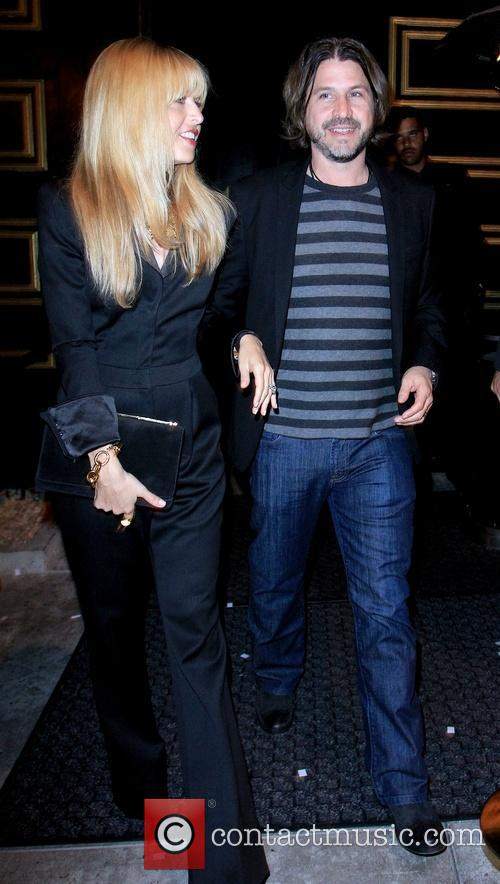 Rachel Zoe and Rodger Beman 1