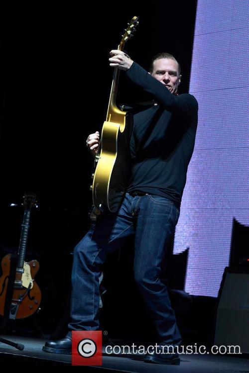 Bryan Adams performs live at Brisbane Entertainment Centre