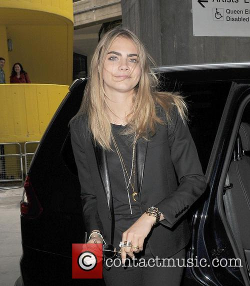 Cara Delevingne leaving the Vogue Festival party 2013
