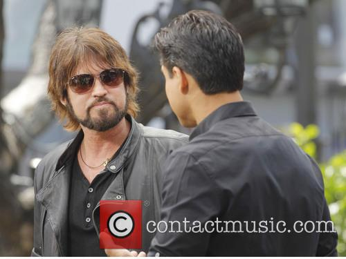 billy ray cyrus celebs at extra 3631817