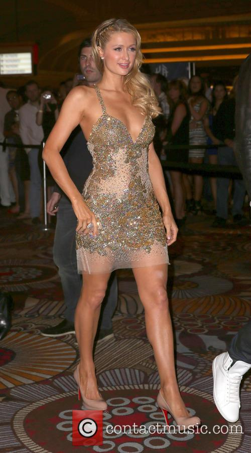 paris hilton all star red carpet affair celebrates 3634784