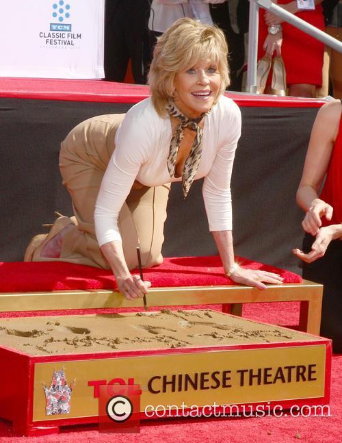 Jane Fonda, Chinese Theater