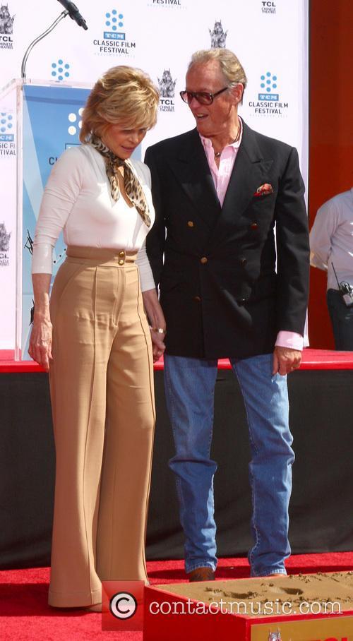 Jane Fonda, Peter Fonda, Chinese Theater