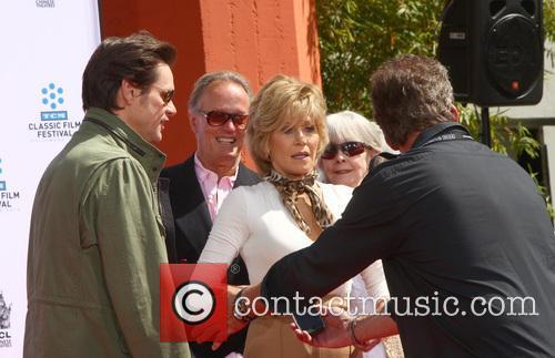 Jim Carrey, Jane Fonda and Troy Garity 1