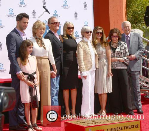 Troy Garity, Jane Fonda, Peter Fonda, Shirlee Fonda and Guests 8