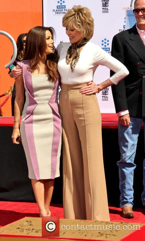 Eva Longoria and Jane Fonda 2