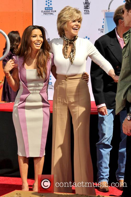 Eva Longoria and Jane Fonda 5
