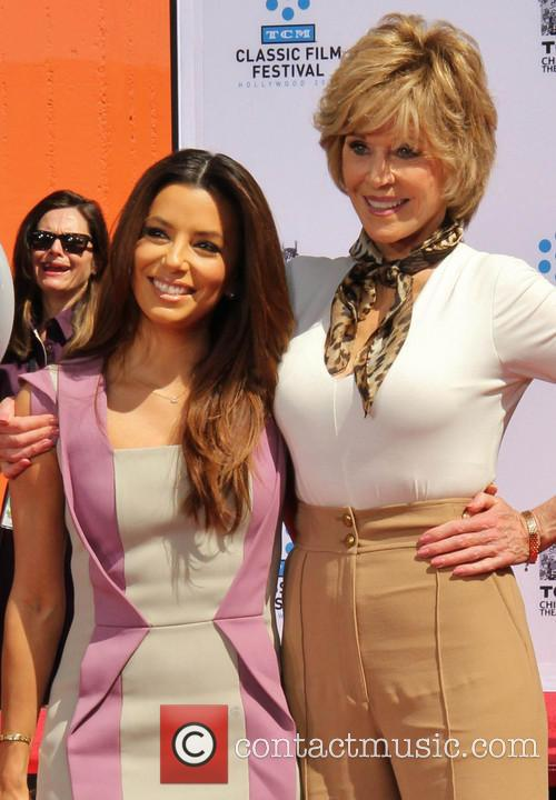 Eva Longoria and Jane Fonda 1