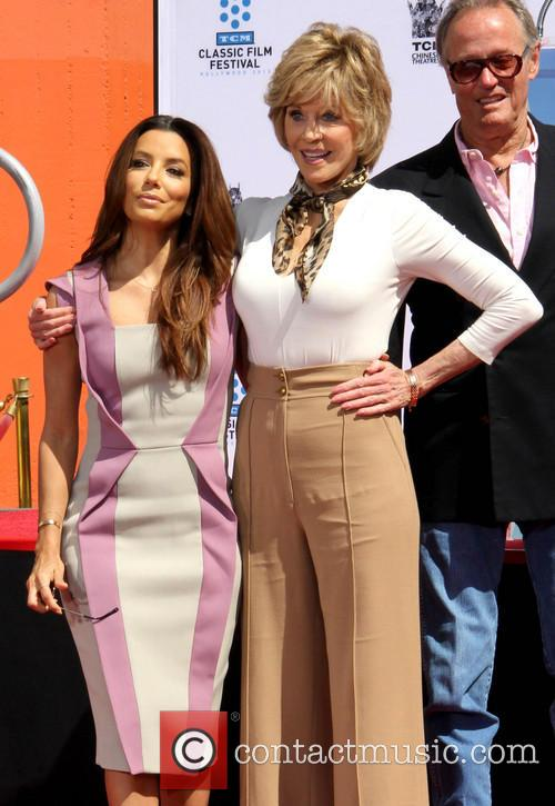 Eva Longoria, Jane Fonda and Peter Fonda 10