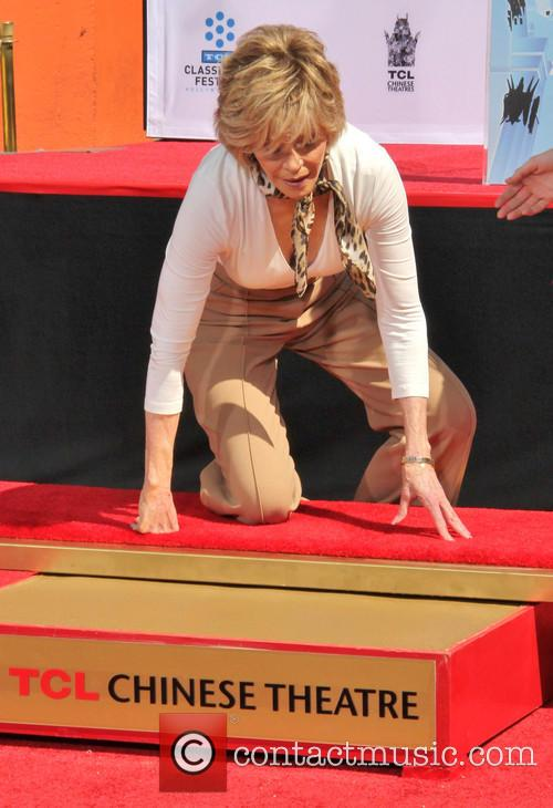 jane fonda handprint and footprint ceremony honouring 3631861