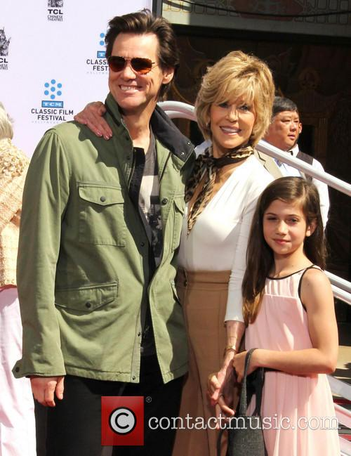 Jim Carrey, Jane Fonda and Viva Vadim 5