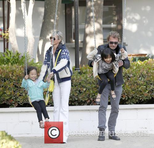 Johnny Hallyday and Laeticia Hallyday 5