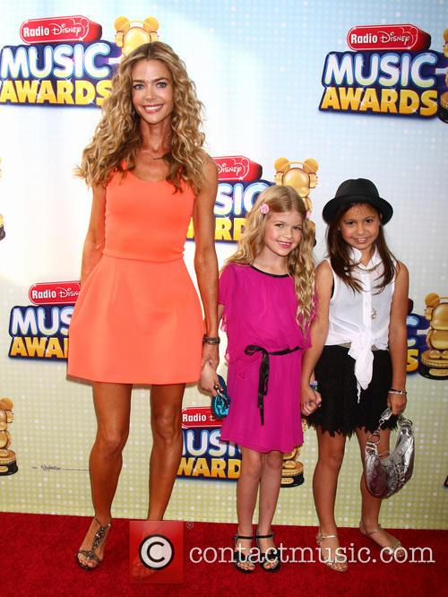 Denise Richards, Daughter Lola and Friend 3