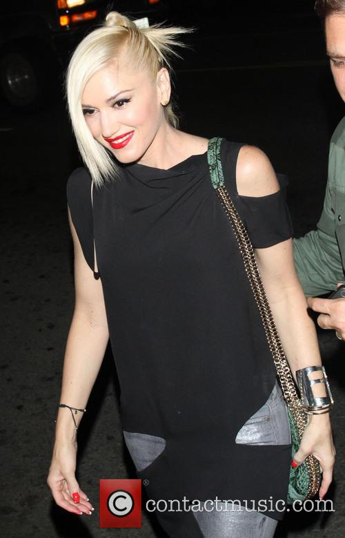 gwen stefani celebrities leave the echoplex in 3634494