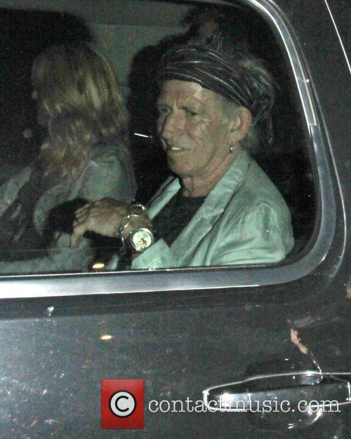 Celebrities leave the Echoplex in Hollywood