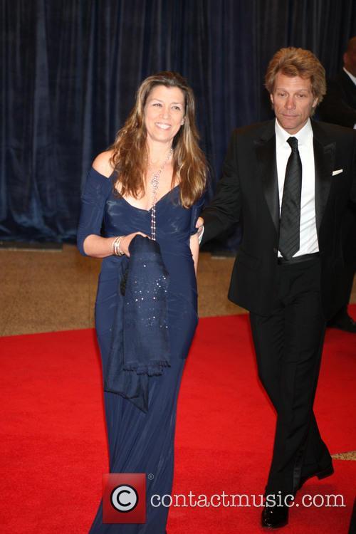 Jon Bon Jovi and Dorothea Bon Jovi 1