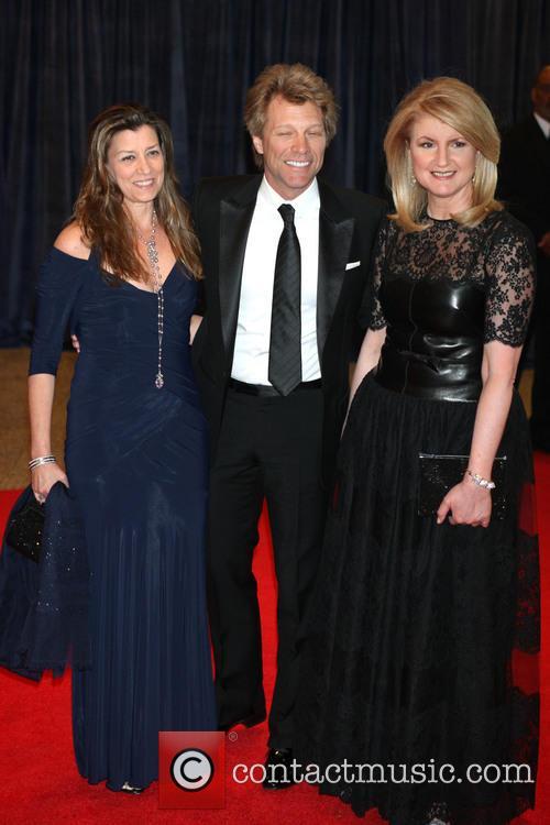 Jon Bon Jovi, Dorothea Bon Jovi and Arianna Huffington 2