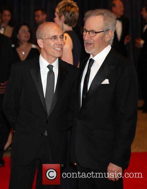 Jeffrey Katzenberg and Steven Spielberg 1