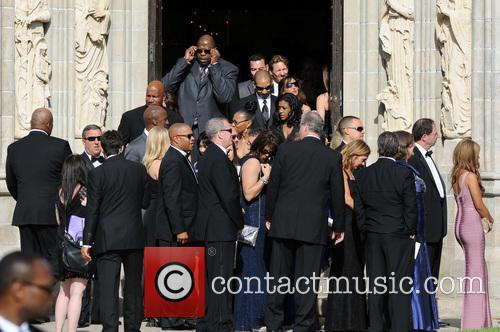 patrick ewing guests attend the wedding ceremony 3631511