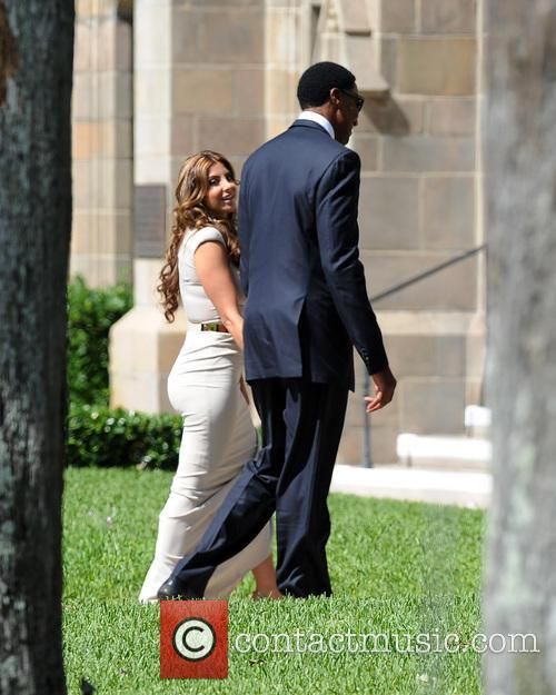 Picture - Michael Jordan, Scottie Pippen and Larsa Pippen at ...