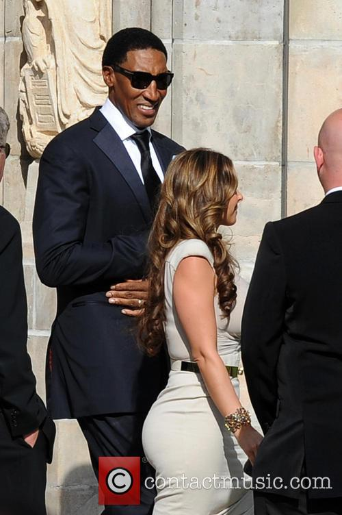 Larsa Pippen And Scottie Pippen Wedding