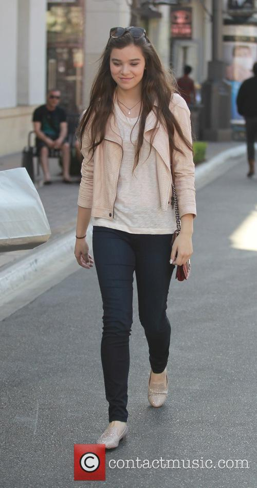 Hailee Steinfeld at The Grove in Hollywood