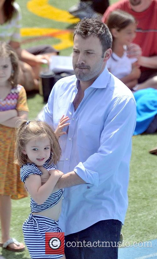 Ben Affleck and Jennifer Garner take their daughters...