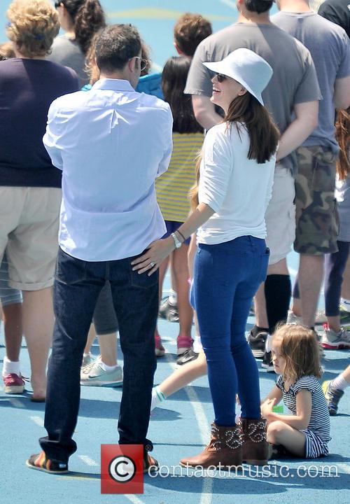 Jennifer Garner, Seraphina Affleck and Ben Affleck 2