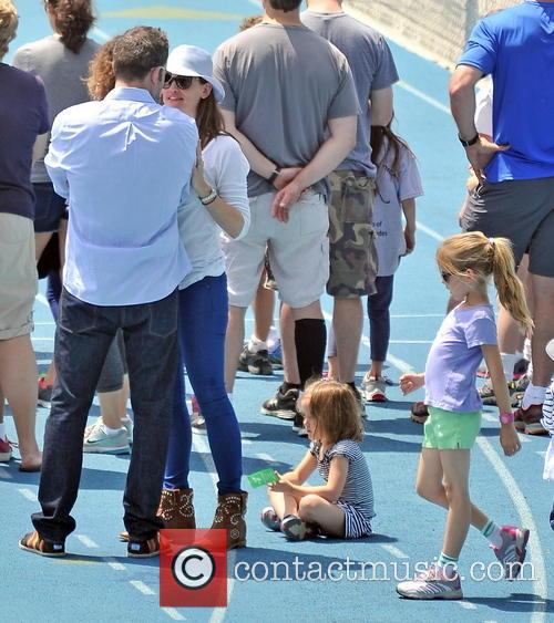 Jennifer Garner, Seraphina Affleck and Ben Affleck 1