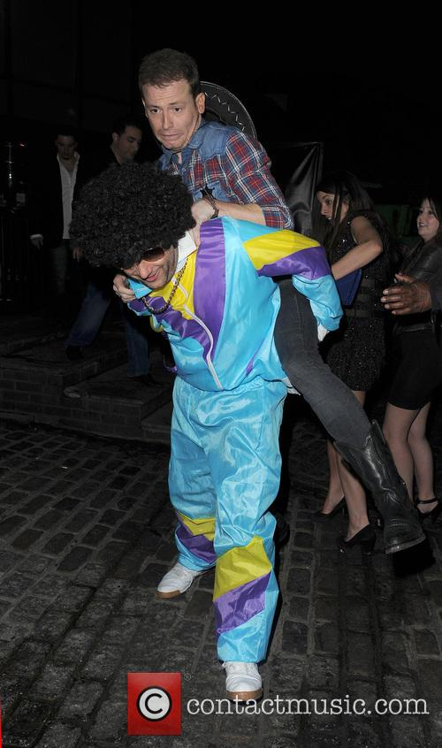 Leigh Francis fancy dress birthday party at Gilgamesh