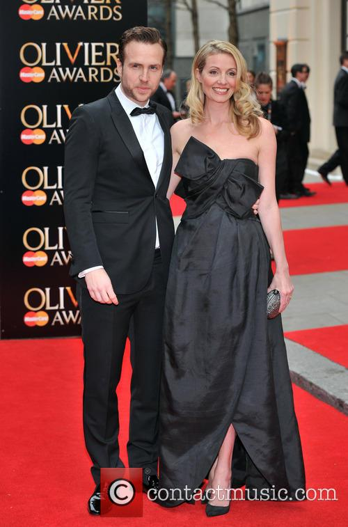 rafe spall elize du toit the olivier awards 3632196