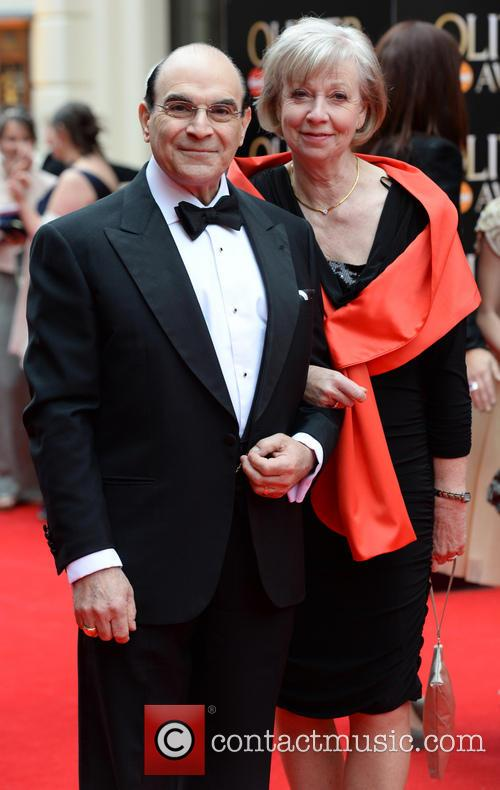 David Suchet and Sheila Ferris