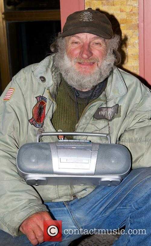 Radio Man spotted in midtown Manhattan
