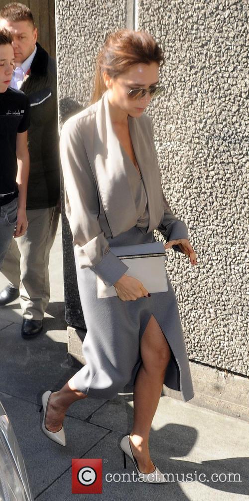 Victoria Beckham arrives at Vogue Festival