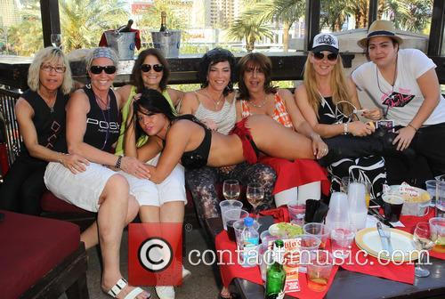 Dinah, Robin Gans, Whitney Walters, Vanessa Dancer, Sandy Sachs, Linda Fusco, Courtney Caron, Guests and Las Vegas 6