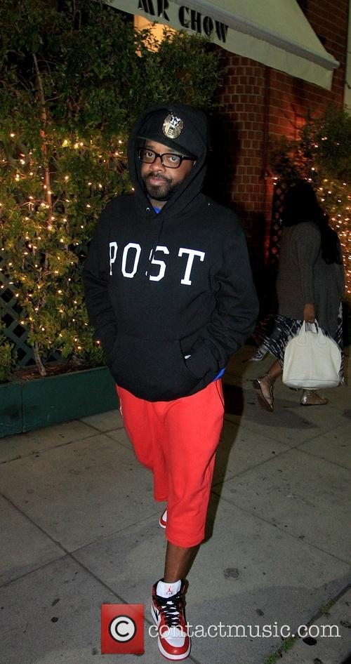 Jermaine Dupri Spotted Leaving Mr. Chows