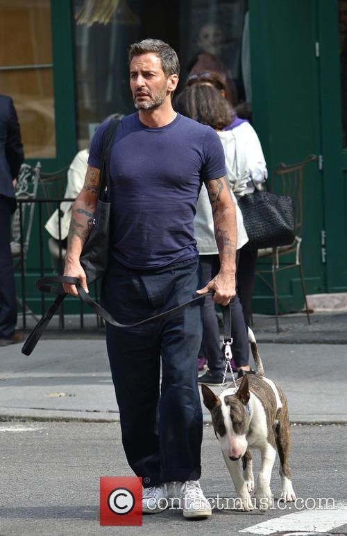 Marc Jacobs And Lorenzo Martone Having Brunch