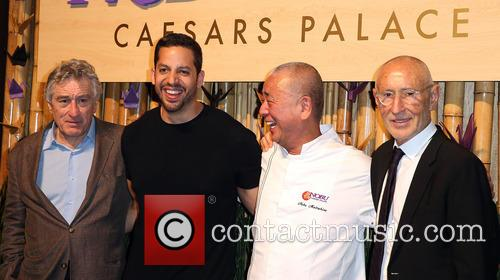 Robert Deniro, David Blaine, Nobu Matsuhisa and Meir Teper 6