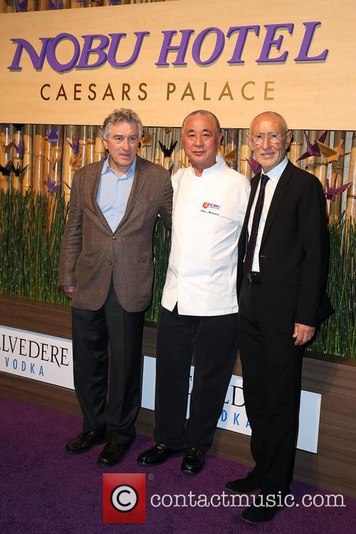 Robert Deniro, Nobu Matsuhisa and Meir Teper 3