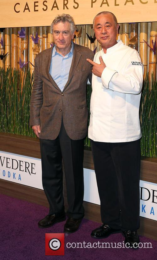 Robert Deniro and Nobu Matsuhisa 5