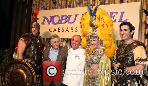 Robert DeNiro and Nobu Matsuhisa 6