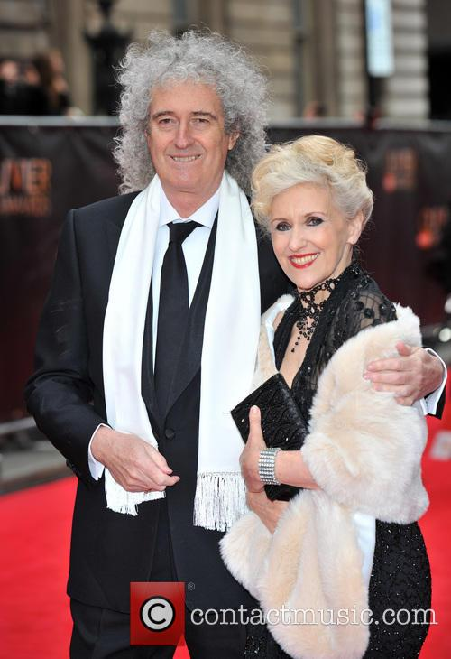 brian may guest the olivier awards 3632749