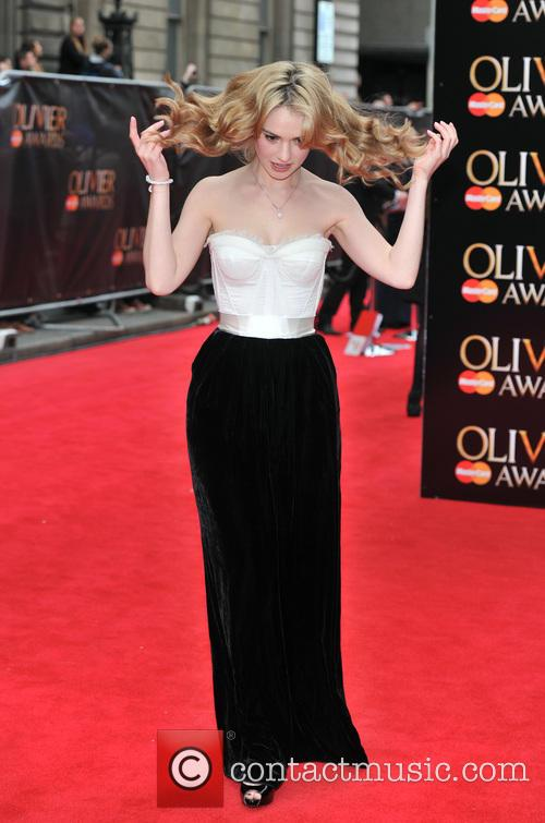 lily james the olivier awards 3632789