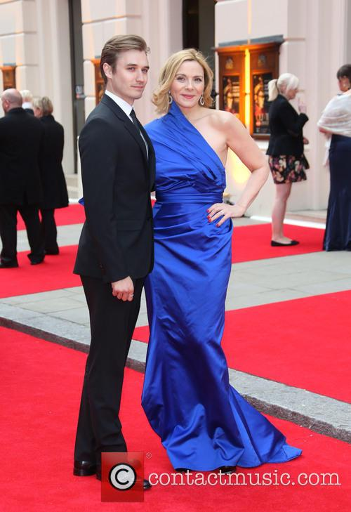 Seth Numrich and Kim Cattrall 3