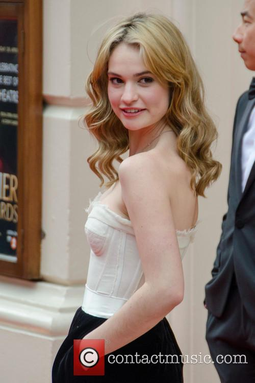 lily james the olivier awards arrivals 3633665