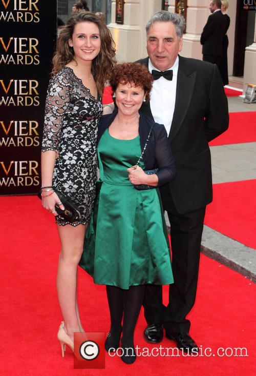 Imelda Staunton, Jim Carter and Bessie Carter 6